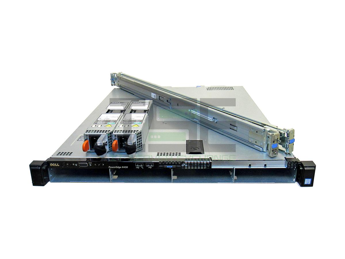 Dell-PowerEdge-R430-4-Port-LFF-2x-E5-2680v4-H730-128GB-RAM-NO-HDD-w-RAILS